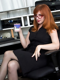 Our favorite redhead milf is back with another round of..