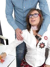 Russian Cum Drunk Teen Sandra Wellness is a Pussy Rider