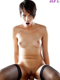 Jasmine Arabia (skinny oriental beauty) sucking/fucked by..