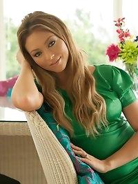 Natalia Green Dress