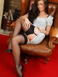 Natalia knows exactly how to impress her boss and..