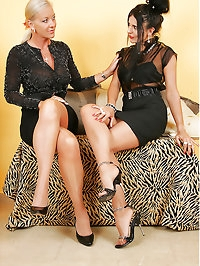 Nylon Model Eve & Amazing Astrid - Hot MILF Action